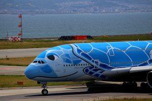 航空機の写真